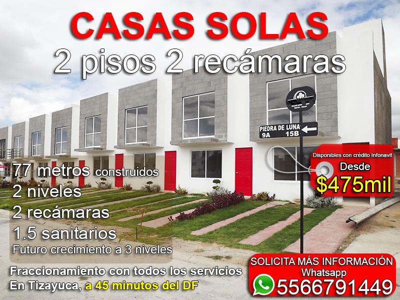 Casas En Tizayuca Con Cr Dito Infonavit A 45mins Del Df