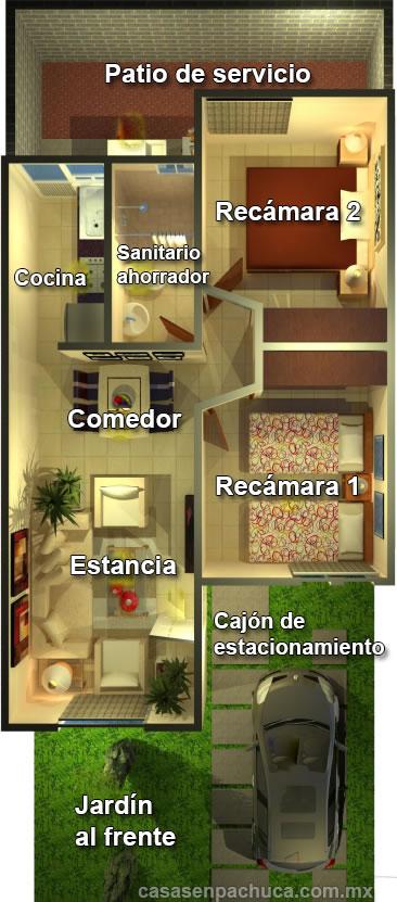 Casas Infonavit En Venta De Una Dos Y Tres Habitaciones