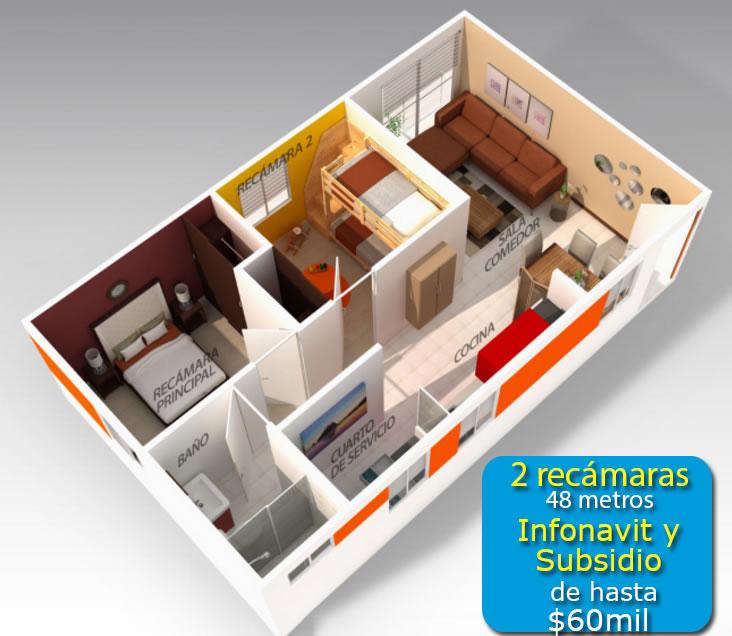 Casas Infonavit Y Departamentos Desde 259 000